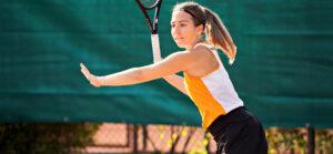 Kirchzell spielt Tennis